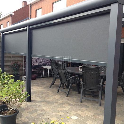 TerrassenUberdachung Holz Mit Sonnenschutz ~ Sonnenschutz für Terrassenüberdachungen  Referenzprojekte