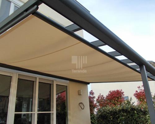 Terrassenberdachung Aus Alu Bauen Mit Polycarbonat Oder Glas